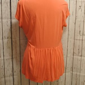 New York & Company Tops - Coral Summer Blouse